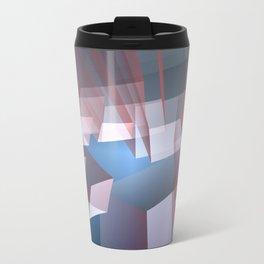 Kissing the sky, geometric fractal abstract Metal Travel Mug
