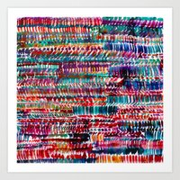 rain Art Prints featuring Rain by Amy Sia