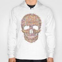 acid Hoodies featuring Acid Skull by Sitchko Igor