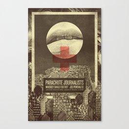 Parachute Journalists - Temptation Canvas Print