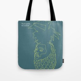 The Weeknd Tote Bag