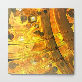 World Warp Elevators #3 Metal Print