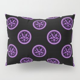 Sebastian Michaelis Sigil Light (black bg) Pillow Sham