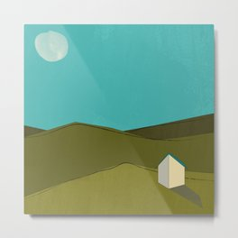 A House Metal Print