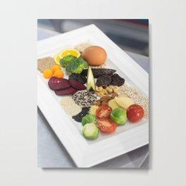 Healty natural food Metal Print