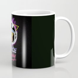 Space Monkey 1980s Coffee Mug