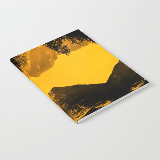 Hello threes of yellow isolation Notebook