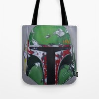 boba Tote Bags featuring Boba by Mowgli Tattoo