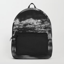 She Needs Help (Black and White) Backpack