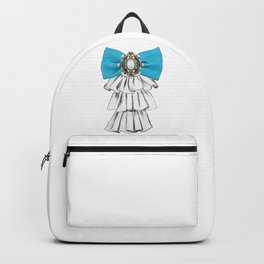 Versailles Style Riffle Jabot Painting (bow tie) T-shirt Backpack