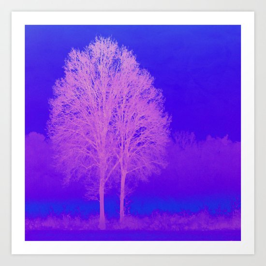 Winter. The Difference Art Print