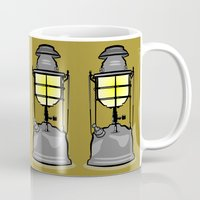 lantern Mugs featuring Lantern by mailboxdisco