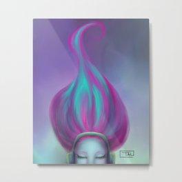 FLOW THROUGH Metal Print