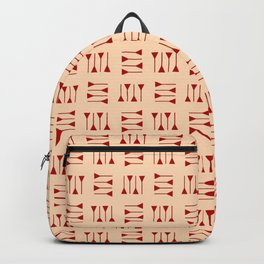 cuneiform 1 ceramic colors Backpack