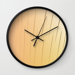 Chic, design lines Gold Wall Clock