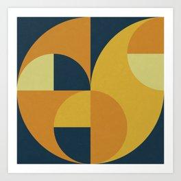 Geometry Games II Art Print