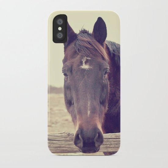 Hello Horse  iPhone Case