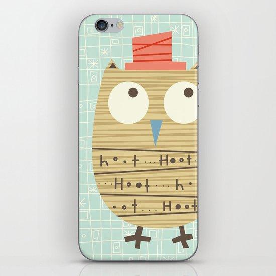 Mr.Hooti iPhone & iPod Skin