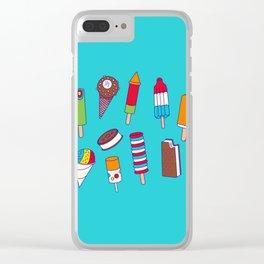 Ice Cream Truck Clear iPhone Case