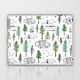 Camping and Trees Laptop & iPad Skin