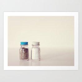 Salt and Pepper Art Print