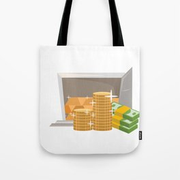 Money In The Bank Tote Bag