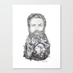 Kitten Beard Canvas Print