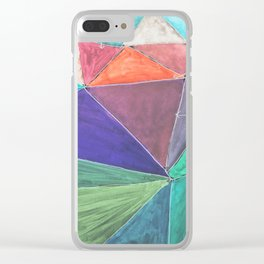 Inverted Color Study Clear iPhone Case