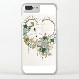 You Have My Heart Clear iPhone Case