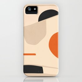 abstract minimal 41 iPhone Case