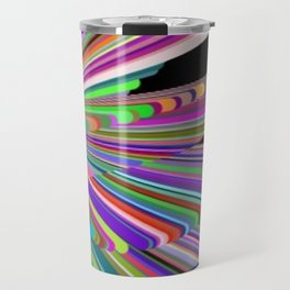 Rainbow lights Travel Mug