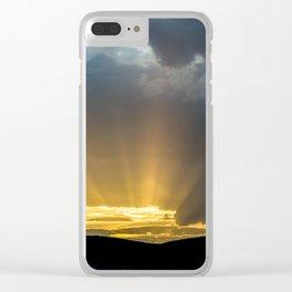 Convergencia Clear iPhone Case