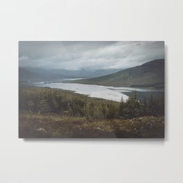 A stop in the Highlands Metal Print