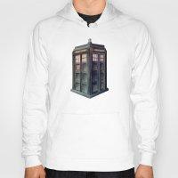 tardis Hoodies featuring TARDIS by Jordan