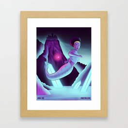 The Explorer (Mermaids #1) Framed Art Print