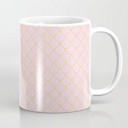 Pink Mermaid Scales Coffee Mug