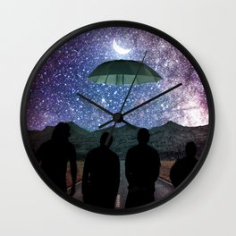 Purity Of The Soul Wall Clock