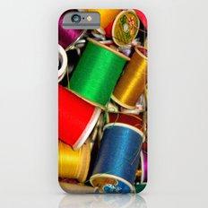 Sewing Thread iPhone 6s Slim Case