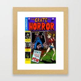 The Crate of Horror Framed Art Print