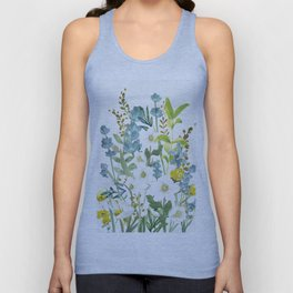Wildflowers VI Unisex Tank Top