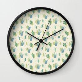 Mint Julep Madness Wall Clock
