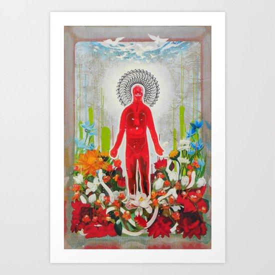 """ABUNDANCE"" Art Print"