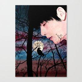BTS V taehyung Canvas Print