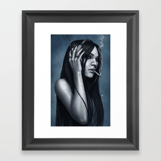 Mymed Framed Art Print