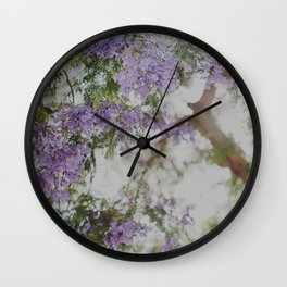 Purple Dream Wall Clock