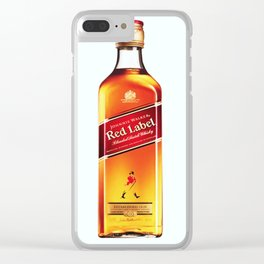 Johnny Red Clear iPhone Case