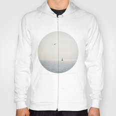 Fly over the sea Hoody