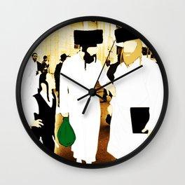 Meeting on Saturday Wall Clock