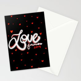 Love Forever 2019 Stationery Cards