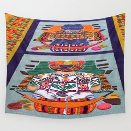 Guatemalan Alfombras Wall Tapestry